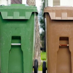 Residential Trash Bin Cleaning Services